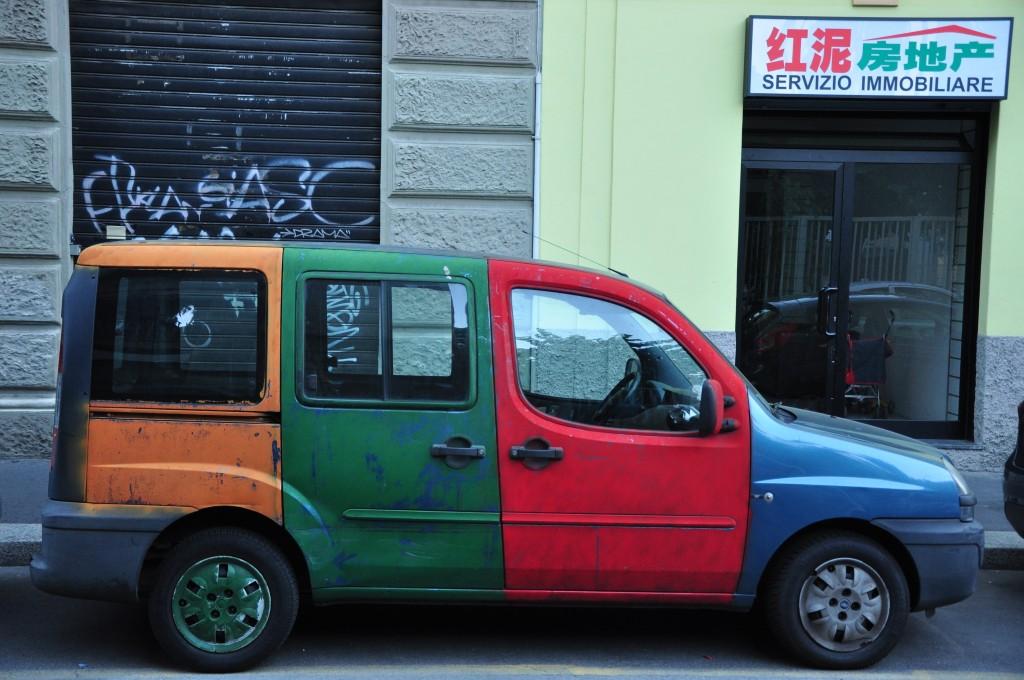 Via Paolo Sarpi, Milan, Italy