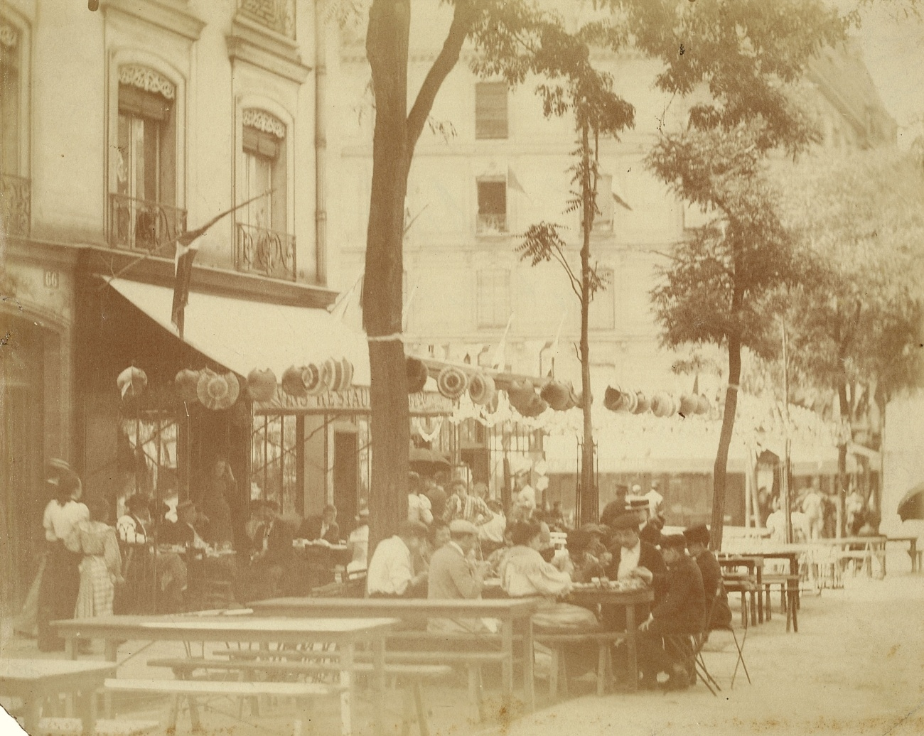Atget Paris Place Ste Catherine, France