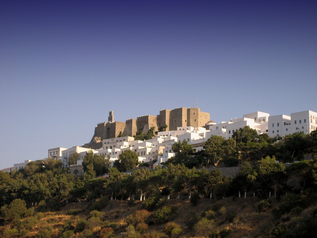 Chora of Patmos, Patmos Island, Greece