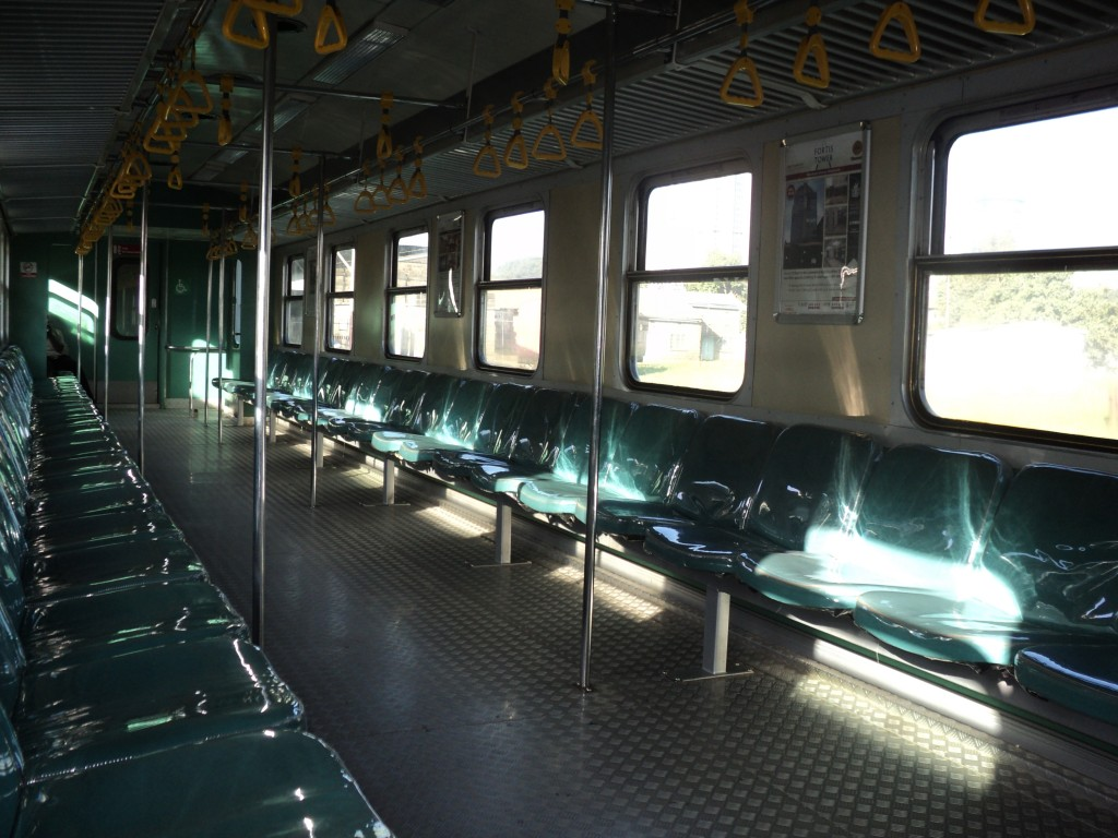 Syokimau railway line, The New Commuter train has provisions for person with disability, Nairobi, Kenya, Africa