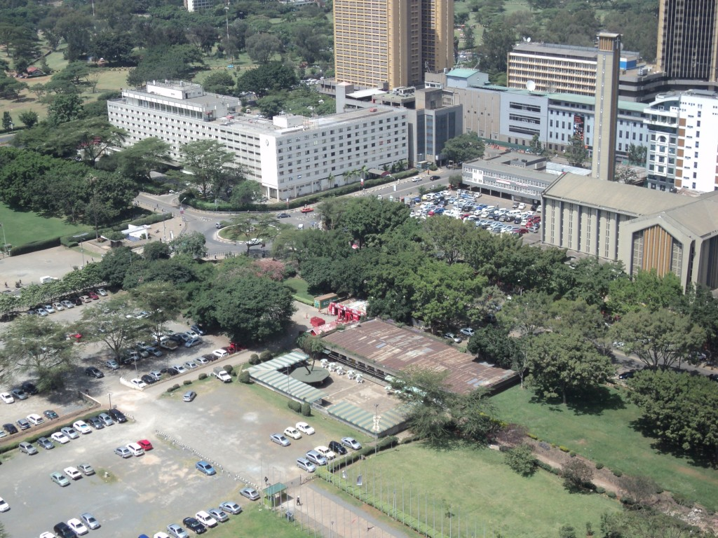 Many urban spaces are being converted into car parks, Nairobi, Kenya, Africa
