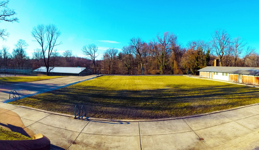 Memorial Pool at Druid Hill Park, City of Baltimore, Maryland