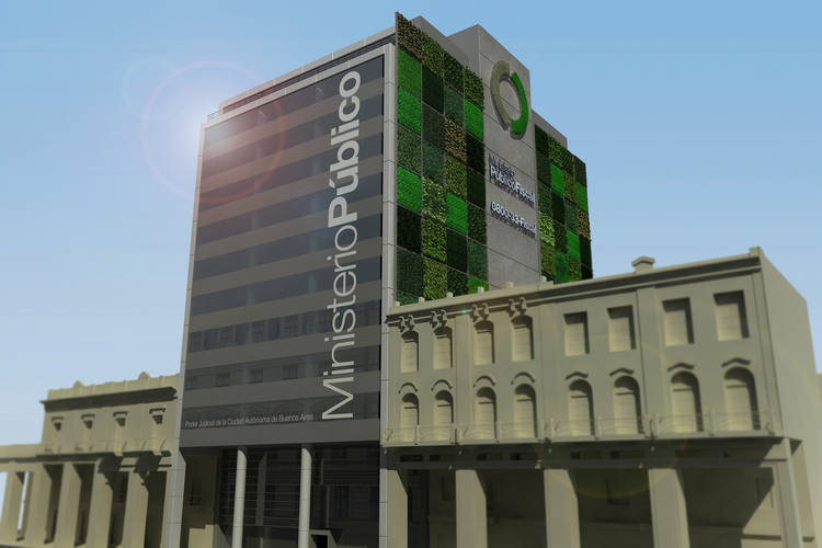 Render of the project, Buenos Aires