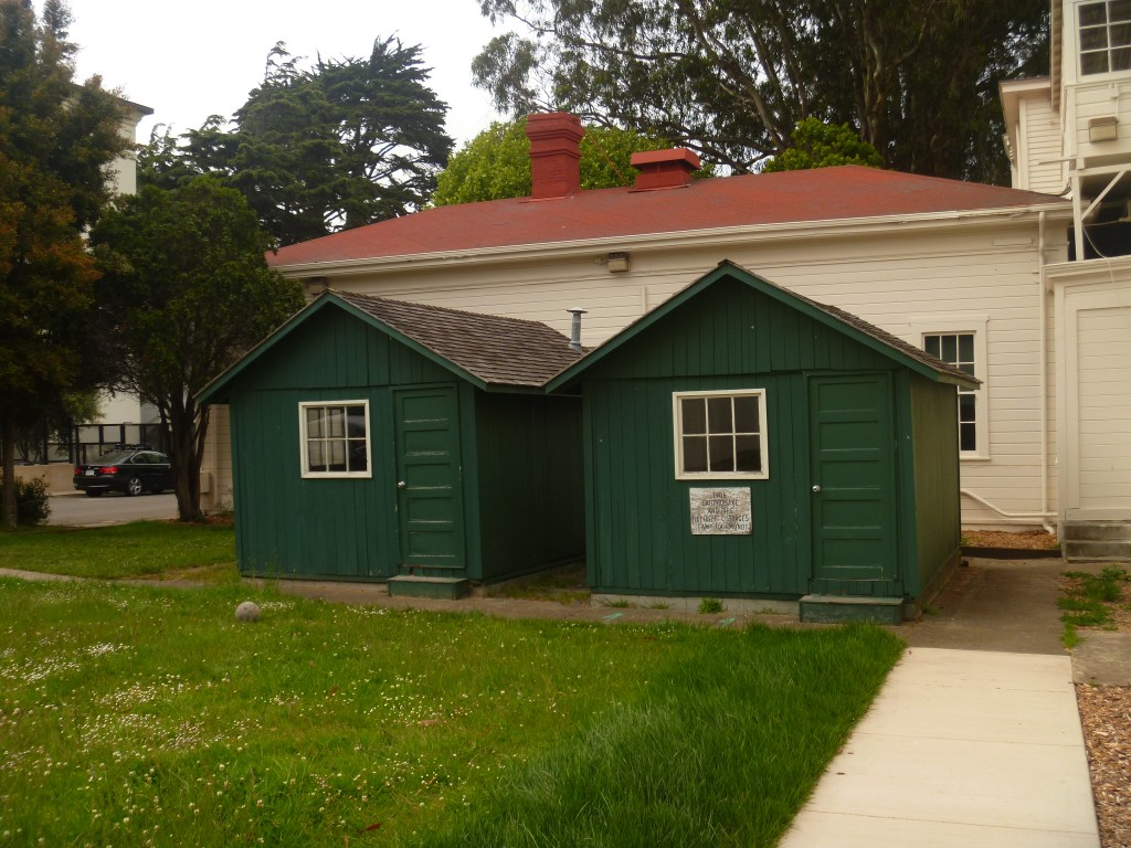 Original Emergency Shacks from San Francisco's Earthquake in 1906