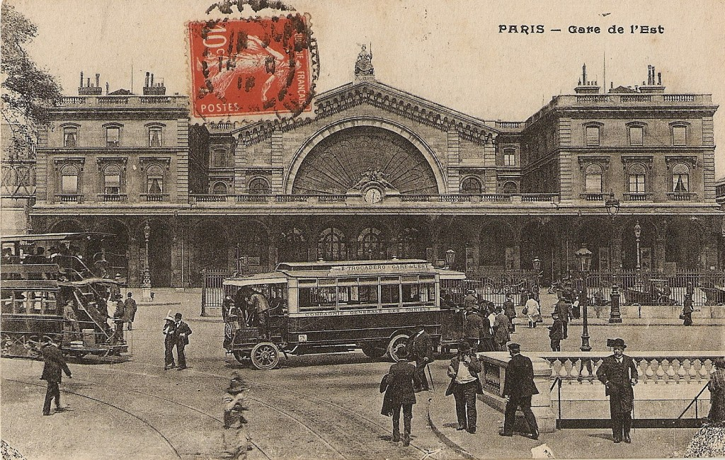 Paris Gare de l'Est, Paris, France