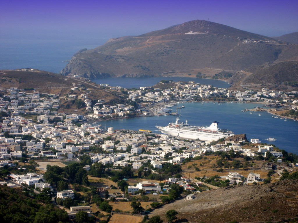 Skala in Patmos, Patmos Island, Greece