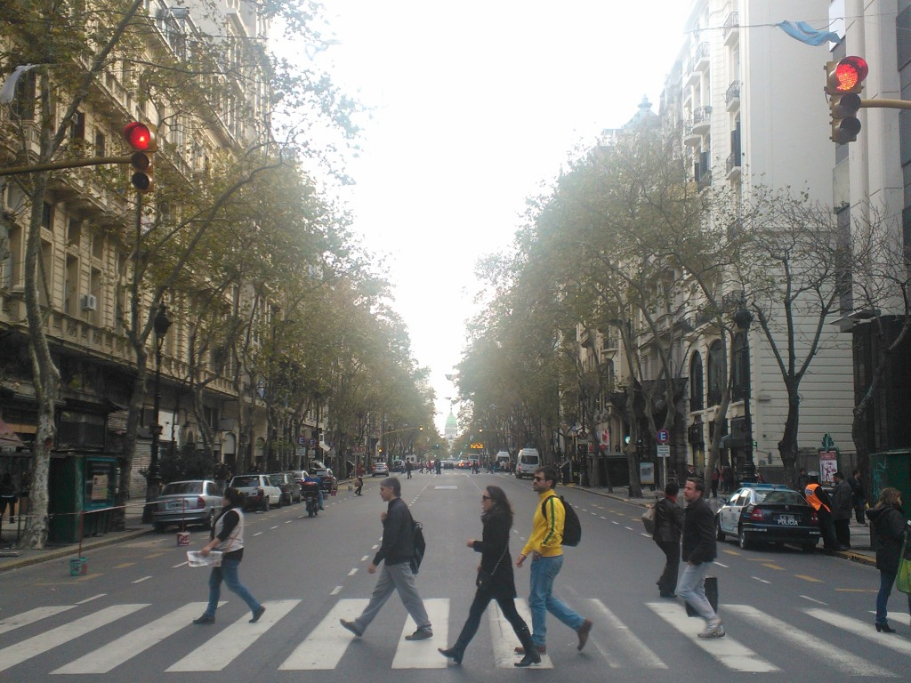 Urban fabric of Buenos Aires, Argentina