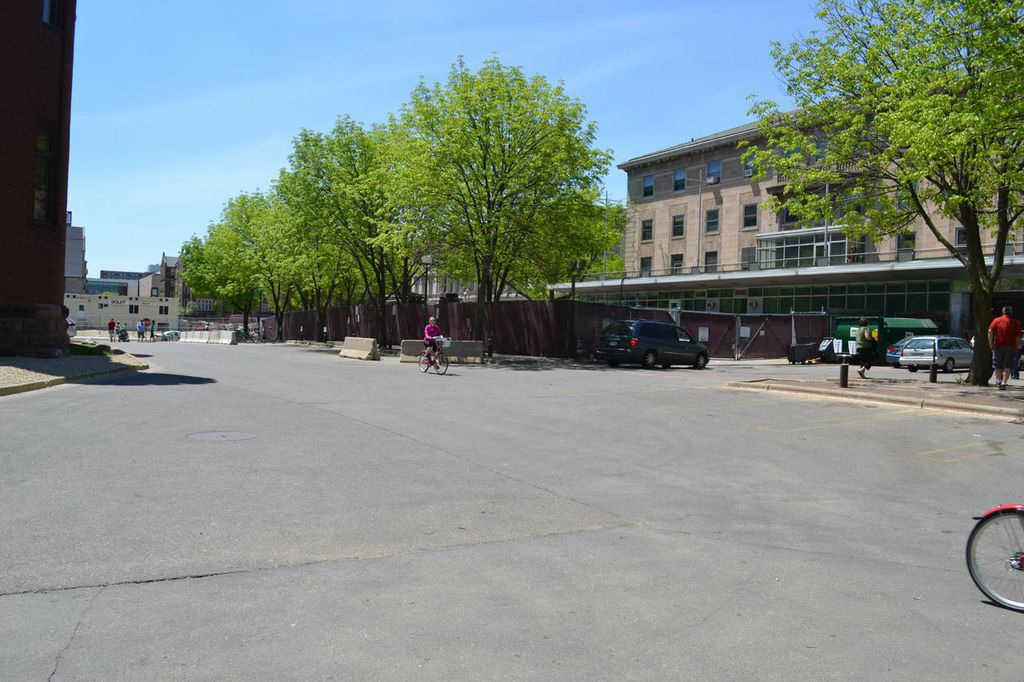 The future home of Alumni Park, Madison, Wisconsin