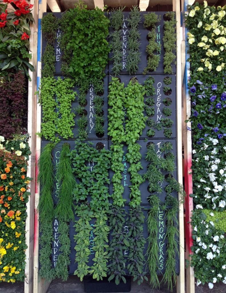 Vertical Gardens at the Royal Melbourne Garden Show, Melbourne, Australia