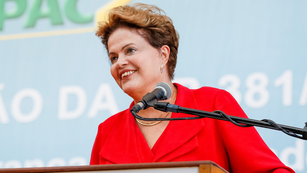 Dilma Rousseff, President of Brazil.