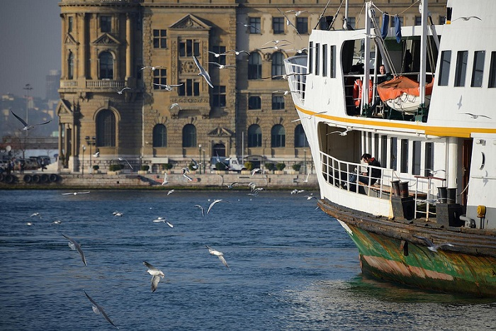 Haydarpasa Train Station, Istanbul, Turkey