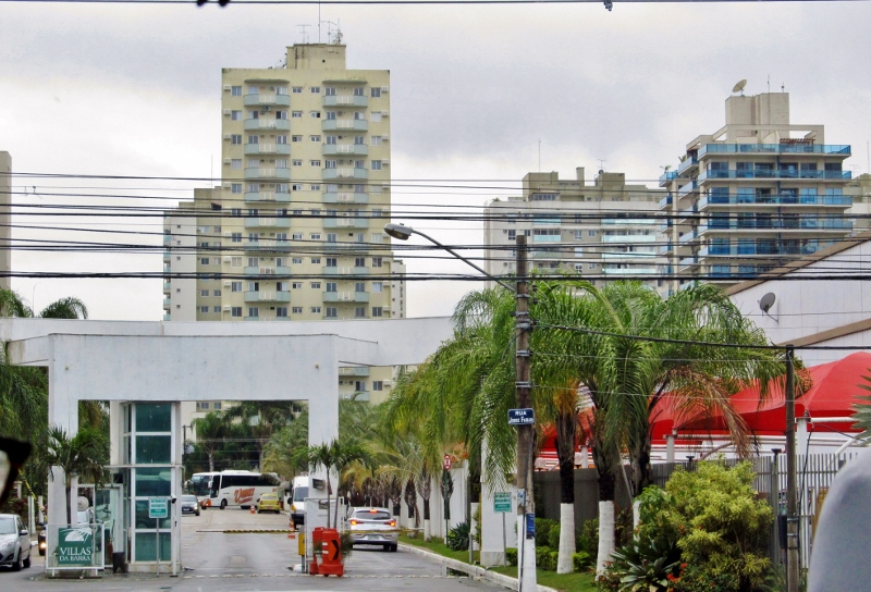 Gated Community in Barra da Tijuca, Brazil