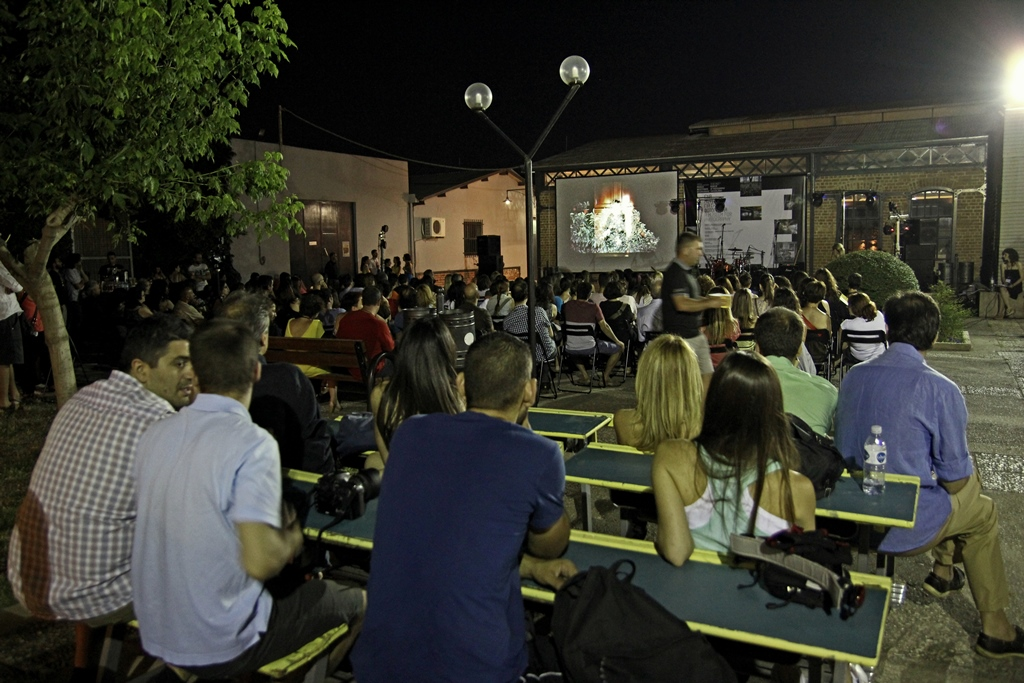 Screenings on Waterworks Museum, Thessaloniki, Greece