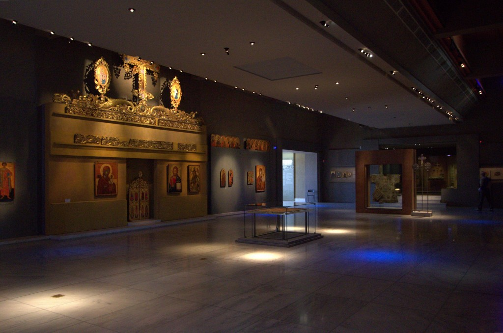 Museum of Byzantine Culture Interior, Greece