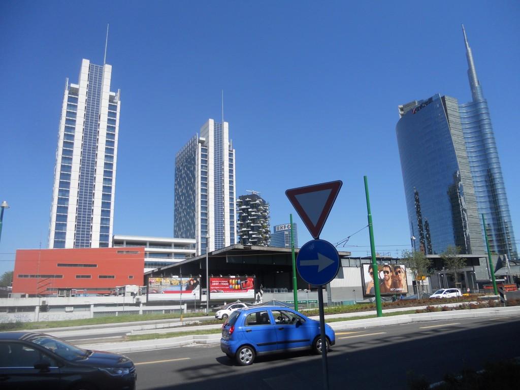 Porta Nuova,Garibaldi Area, Milan, Italy