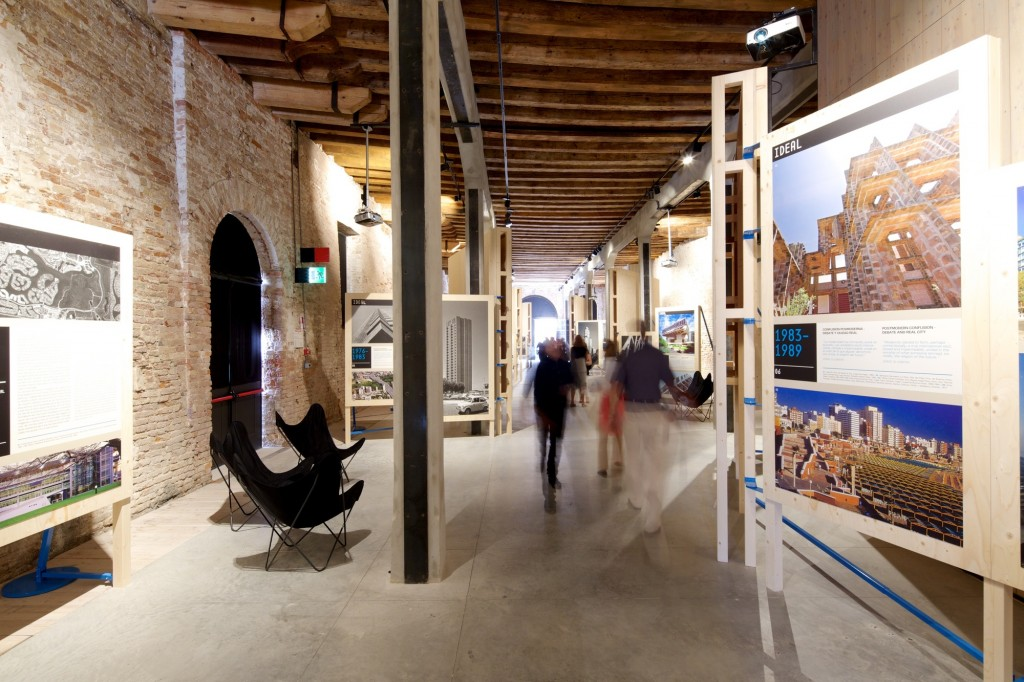 Argentine Pavillion from the inside, The Venice Biennale