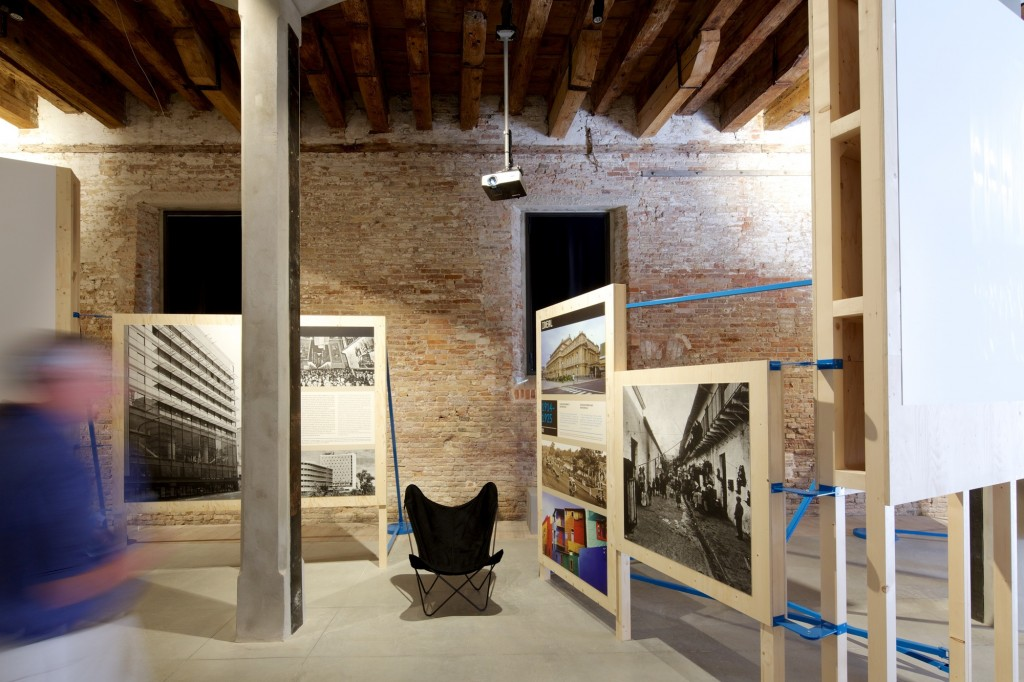 Argentine pavillion on the inside, The Venice Biennale
