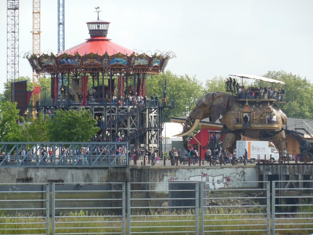 Carrousel des Mondes Marins, Nantes, France