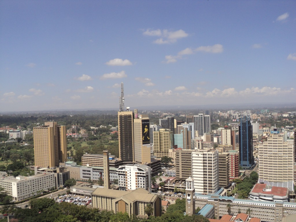 The City of Nairobi, Kenya