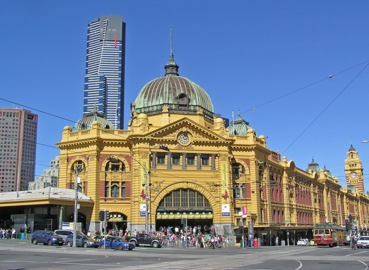 The Flinders Street Station, poised for redevelopement, Melbourne, Australia