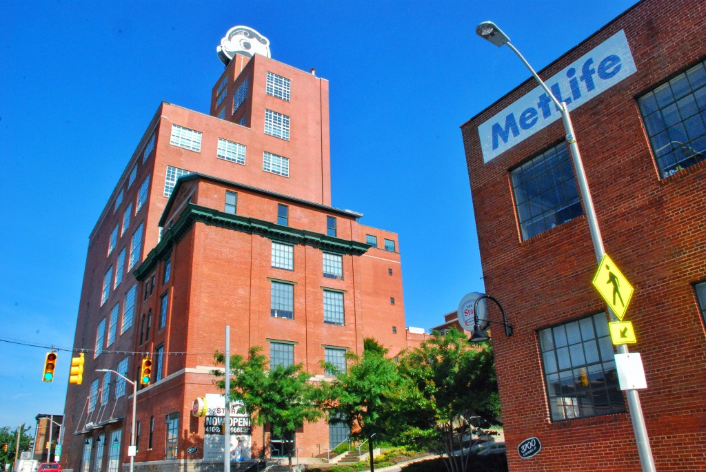 Natty Boh Tower, MetLife, Brewers Hill, Baltimore, Maryland