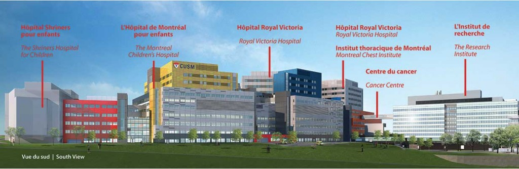 McGill University Health Centre, Montreal, Quebec, Canada - Glen Site