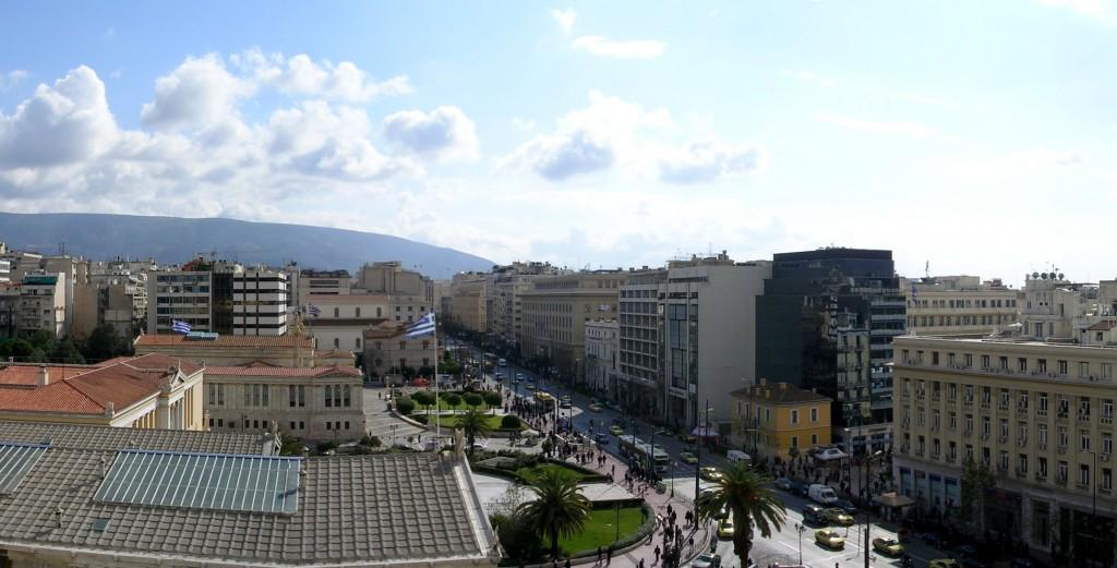 Panepistimiou Street, 2009, Athens, Greece