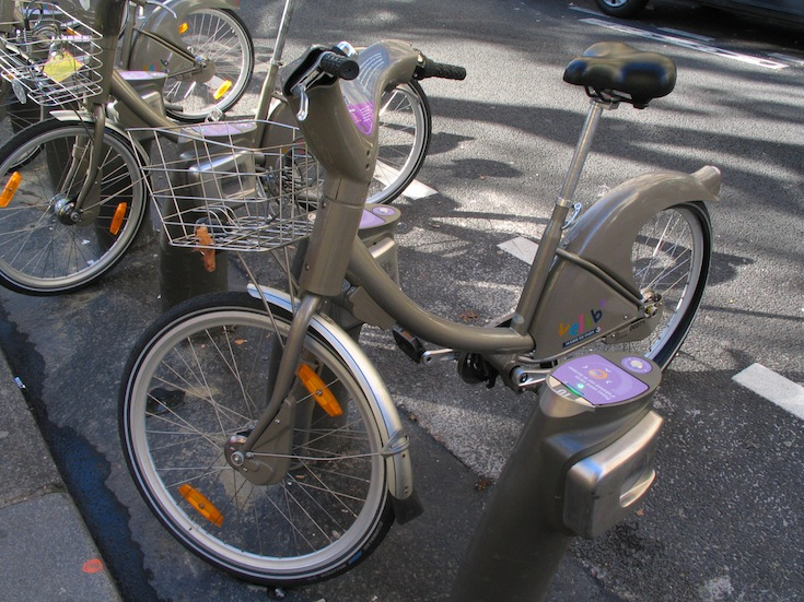 Little Velib in Paris, France