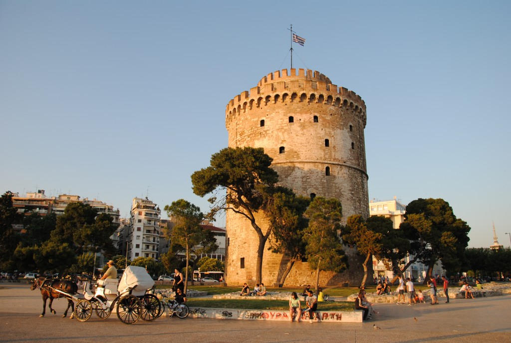 Thessaloniki's White Tower, Greece