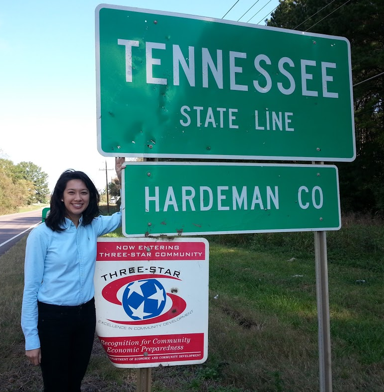 Work Travel to Tennessee, Christine Cepelak