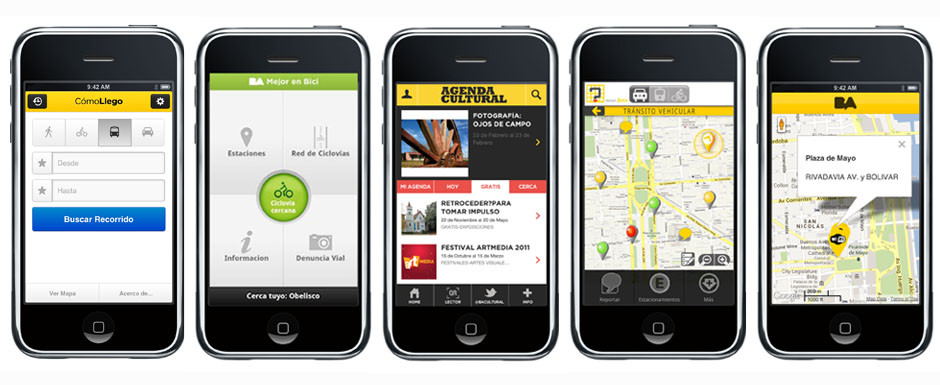 Smartphone apps from the City Government