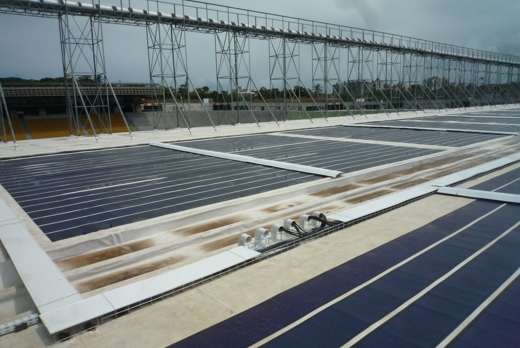 An example of another solar energy project in Brazil.