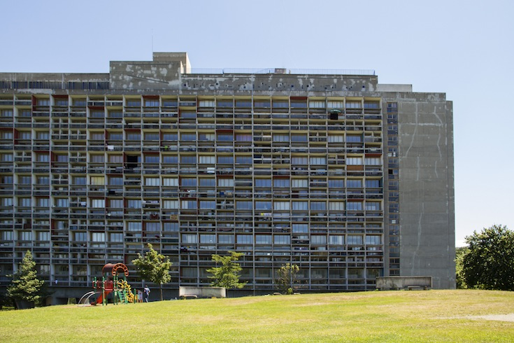 L'unité d'Habitation building by Le Corbusier in Firminy, France
