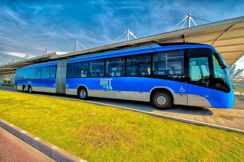 The Rapid Bus System in Rio de Janeiro, Brazil