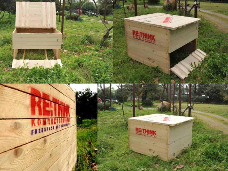 Self-managed Composting, Greece, Kalamata, Greece