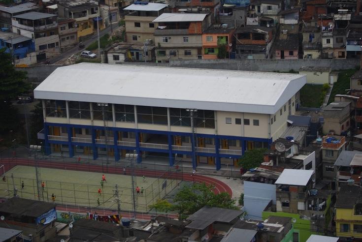 New facilities in Complexo do Alemão in Rio de Janeiro, Brazil