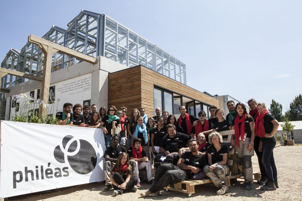 Solar Decathlong Europe 2014, Phileas