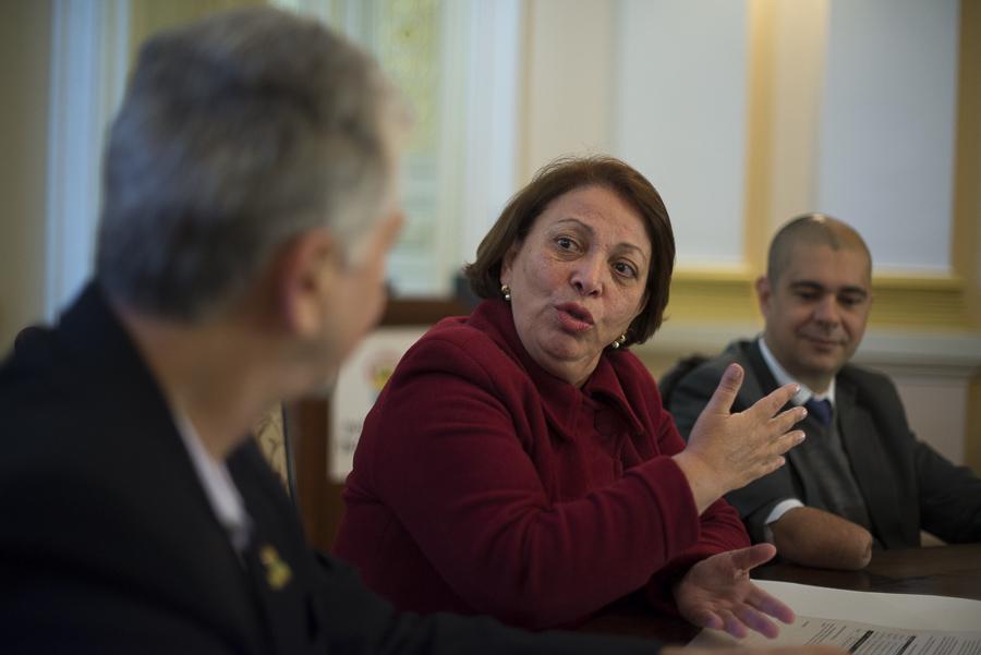 The Minister of Labor, Ideli Salvatti. Brazil