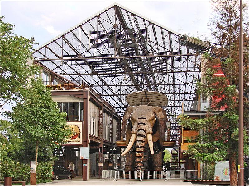 La Galerie des Machines, Isle de Nantes, France
