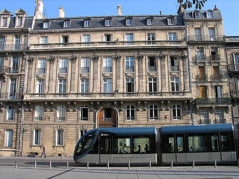 Bordeaux, France Tram