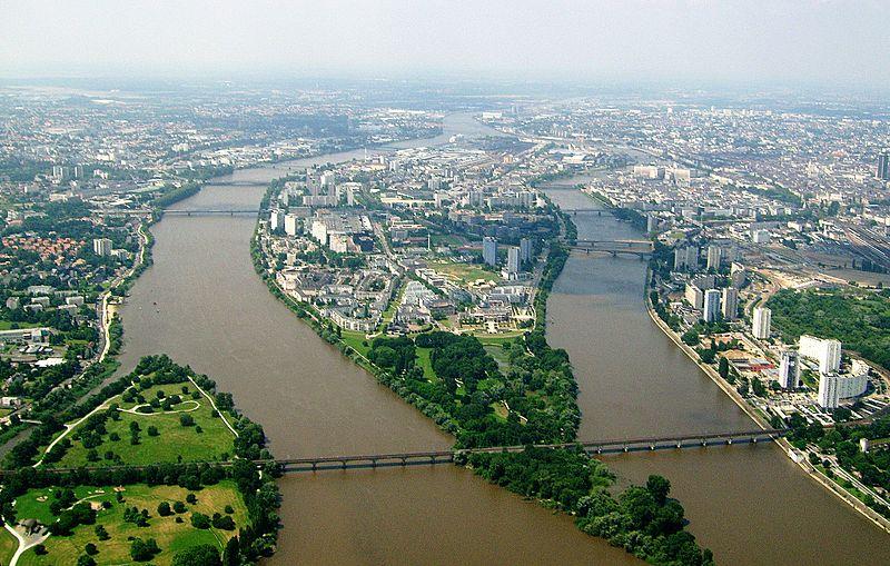 The Isle of Nantes, Nantes, France