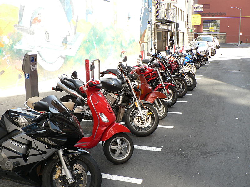 Scooters in San Francisco, California