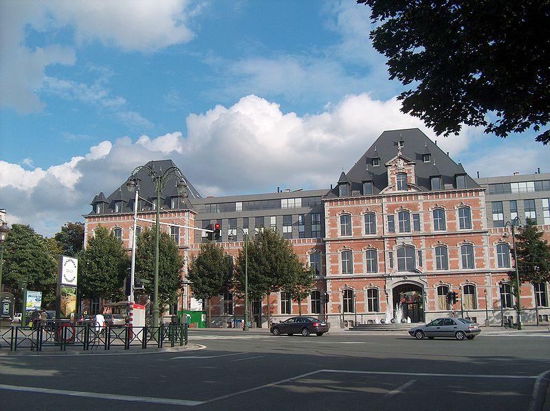 Schaerbeek Aveunue at Place Dailly, Brussels, Belgium