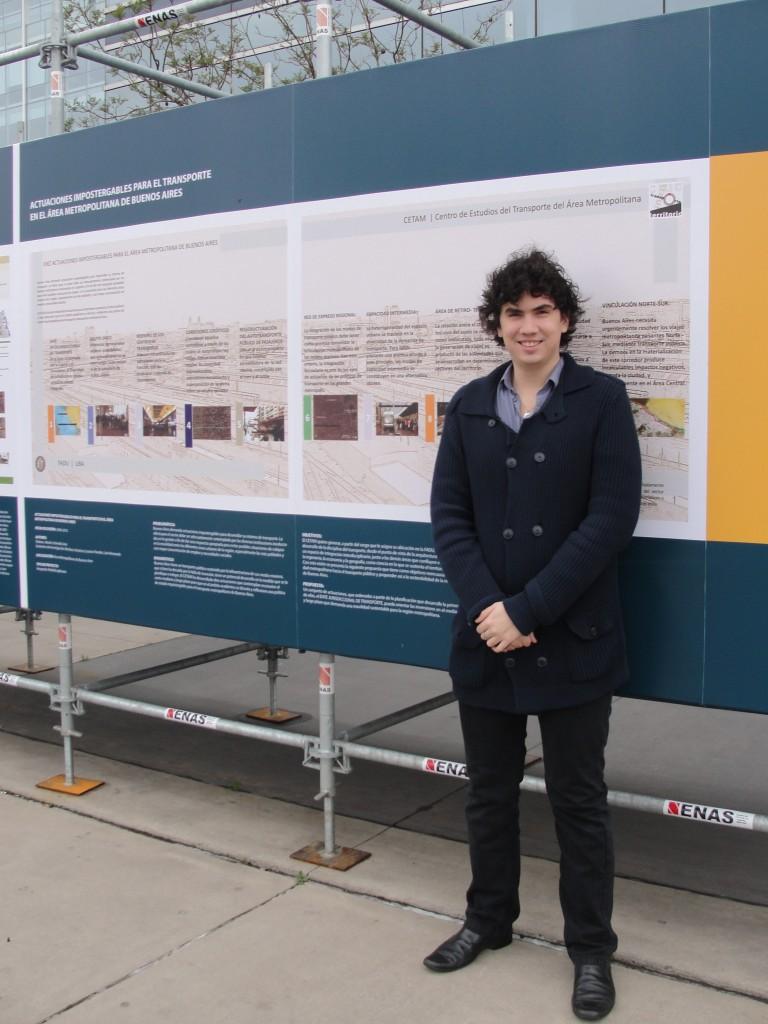 Luis Lozano-Paredes at Expo CETAM