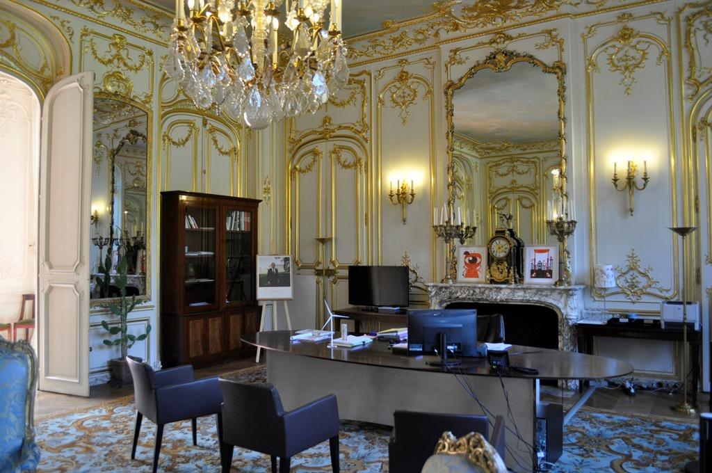 Hôtel de Castries, Salon bleu, Paris, France