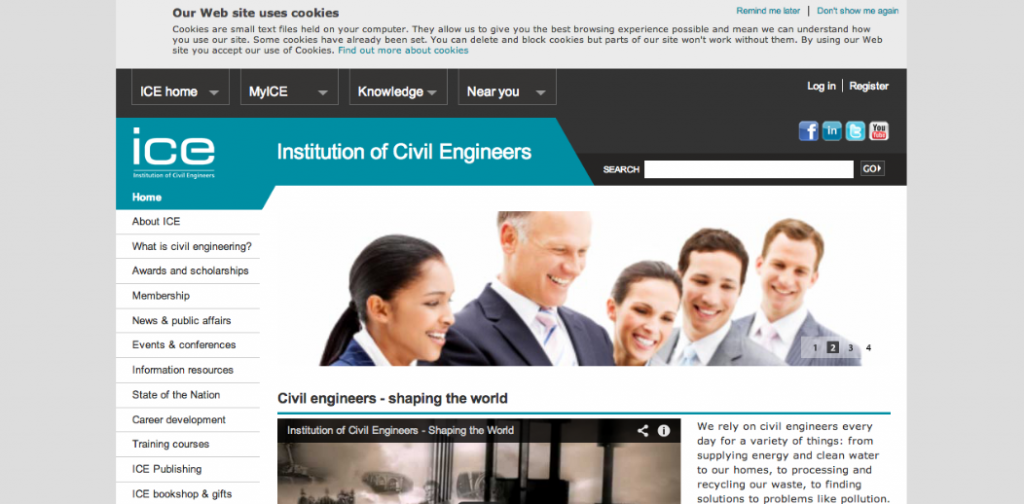 ICE, Institution of Civil Engineers