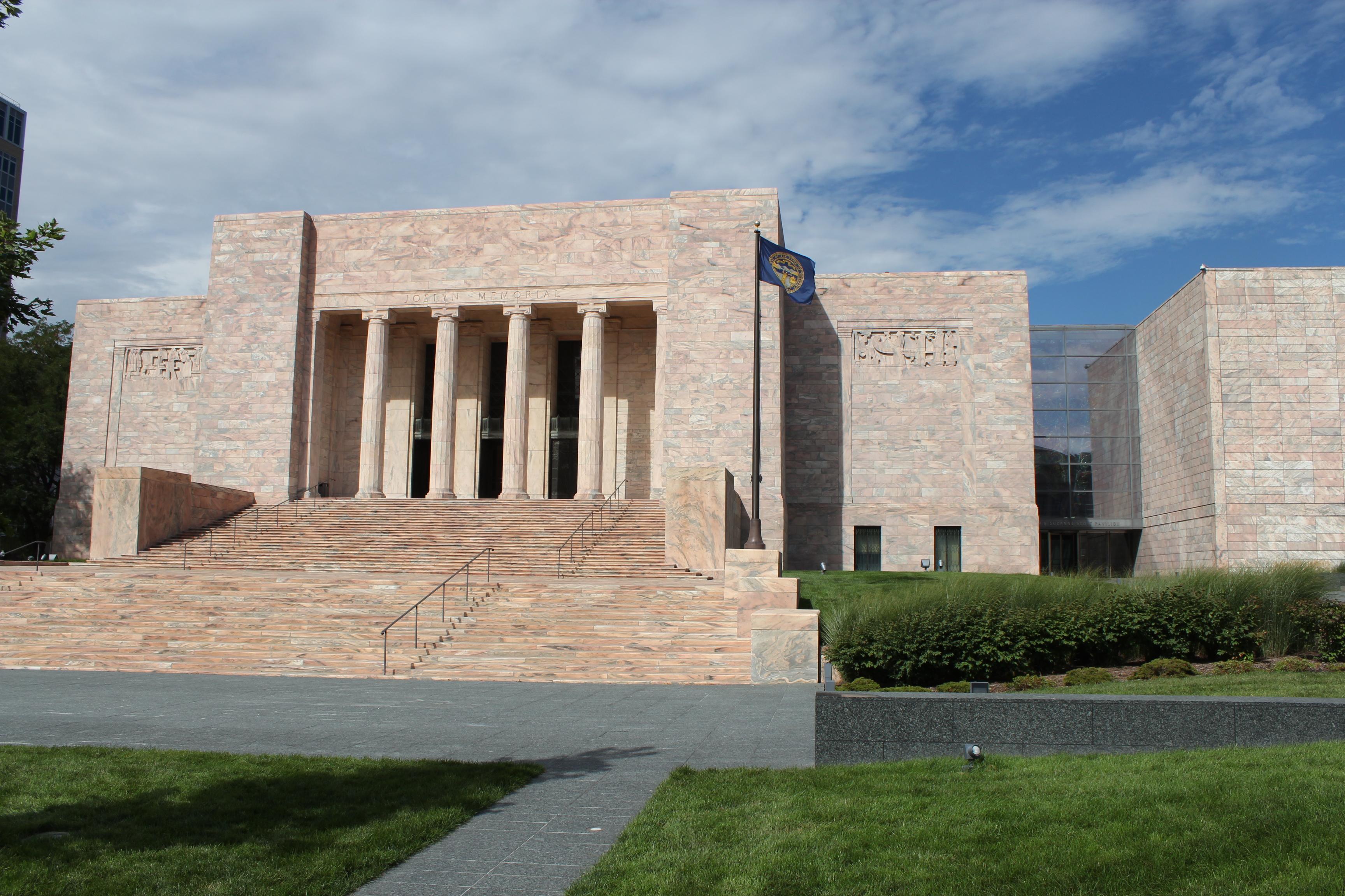 Front Elevation of the Joslyn Art Museum, Omaha, Nebraska