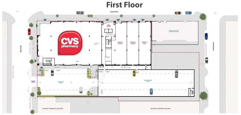 Campustown retail plan, Ames, Iowa