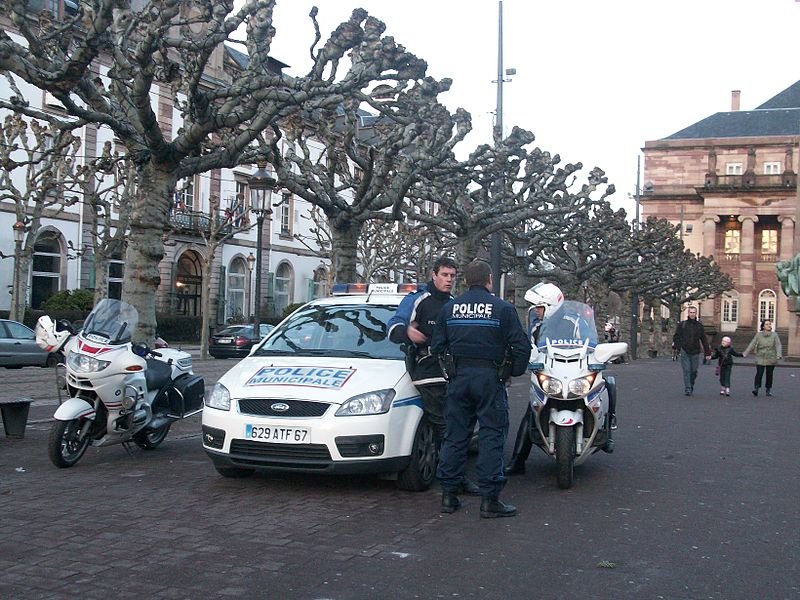 Municipal Police of Strasbourg, France