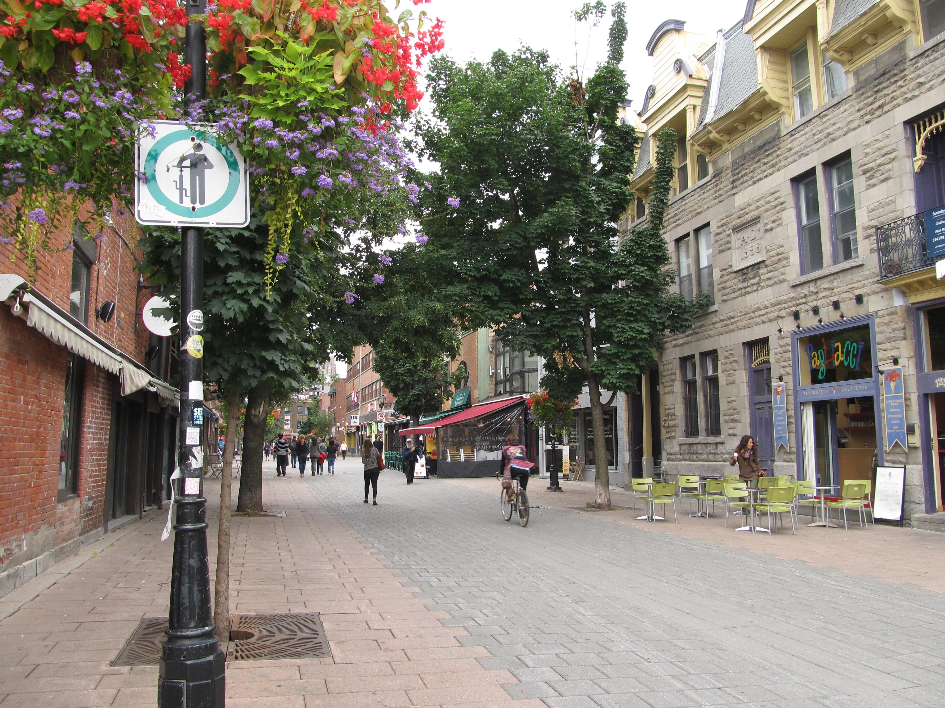 Prince Arthur Street Restaurants Montreal